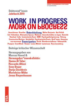WORK IN PROGRESS. WORK ON PROGRESS. von Hawel,  Marcus