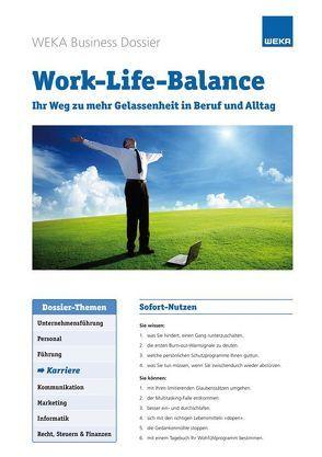 Work-Life-Balance von Eberle,  Heike