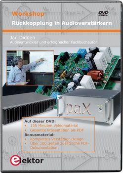 Workshop-DVD 'Rückkopplung in Audioverstärkern' von Didden,  Jan