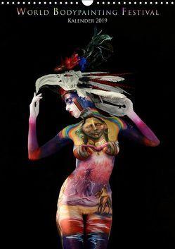 World Bodypainting Festival (Wandkalender 2019 DIN A3 hoch) von Moisseev,  Dmitri