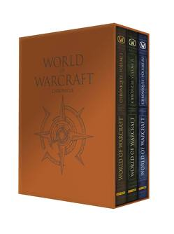 World of Warcraft Chroniken 1–3 Schuber von Blizzard Entertainment, Kasprzak,  Andreas