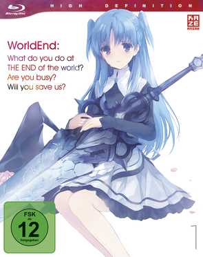 WorldEnd: What do you do at the end of the world? Are you busy? Will you save us? – Blu-ray 1 von Wada,  Jun'ichi