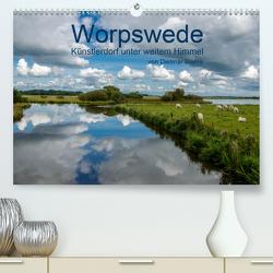 Worpswede – Künstlerdorf unter weitem Himmel (Premium, hochwertiger DIN A2 Wandkalender 2020, Kunstdruck in Hochglanz) von Blome,  Dietmar