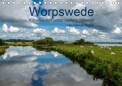 Worpswede – Künstlerdorf unter weitem Himmel (Tischkalender 2019 DIN A5 quer) von Blome,  Dietmar