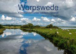 Worpswede – Künstlerdorf unter weitem Himmel (Wandkalender 2018 DIN A3 quer) von Blome,  Dietmar