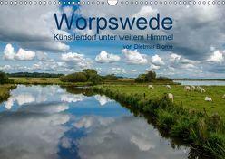 Worpswede – Künstlerdorf unter weitem Himmel (Wandkalender 2019 DIN A3 quer) von Blome,  Dietmar