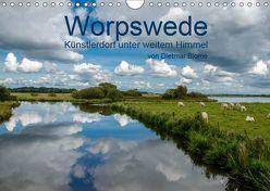 Worpswede – Künstlerdorf unter weitem Himmel (Wandkalender 2019 DIN A4 quer) von Blome,  Dietmar