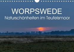 Worpswede – Naturschönheiten im Teufelsmoor (Wandkalender 2021 DIN A4 quer) von Adam,  Ulrike