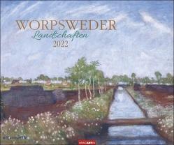 Worpsweder Landschaften Kalender 2022 von Weingarten