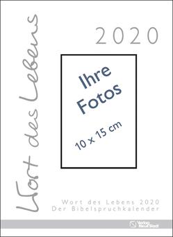 Wort des Lebens 2020 – Der Bibelspruchkalender von Harl,  Gabriele