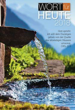 Wort für heute 2018 – Großdruck-Buchkalender