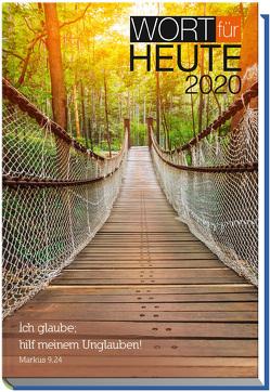 Wort für heute 2020 – Großdruck-Buchkalender