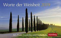 Worte der Weisheit – Kalender 2019 von Harenberg, Nadolny,  Susanne