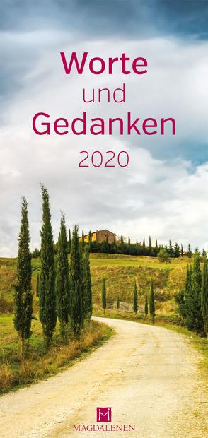 Worte und Gedanken 2020 von Paxmann,  Christine