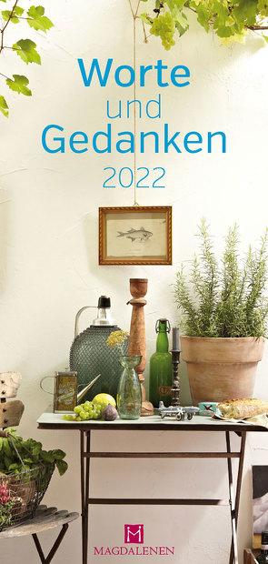 Worte und Gedanken 2022 von Paxmann,  Christine