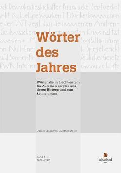 Wörter des Jahres von Meier,  Günther, Quaderer,  Daniel
