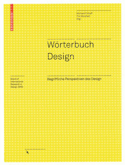 Wörterbuch Design von Erlhoff,  Michael, Marshall,  Timothy