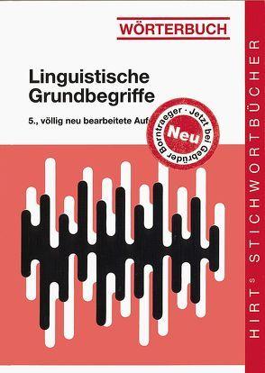Wörterbuch Linguistische Grundbegriffe von Ulrich,  Winfried