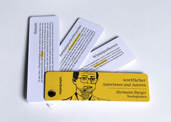 Wortfächer Hermann Burger von Burger,  Hermann