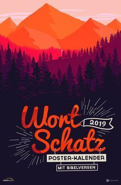 WortSchatz 2019 – Poster-Kalender von Sauer,  Ben