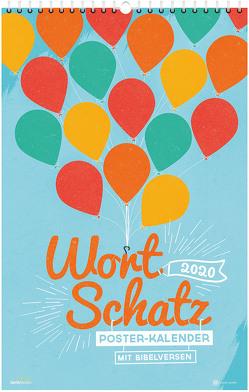 WortSchatz 2020 – Poster-Kalender von Sauer,  Ben