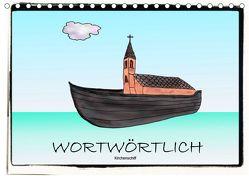 WORTWÖRTLICHAT-Version (Tischkalender 2019 DIN A5 quer) von Besenböck,  Ingrid