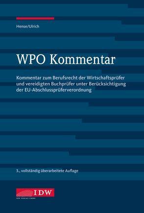 WPO Kommentar von Hense,  Burkhard, Ulrich,  Dieter