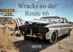 Wracks an der Route 66 (Wandkalender 2019 DIN A2 quer) von Silberstein,  Reiner