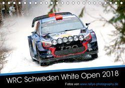 WRC Schweden White Open 2018 (Tischkalender 2018 DIN A5 quer) von Freiberg,  Patrick