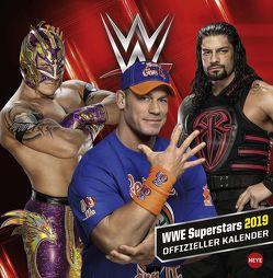 Wrestling Broschurkalender – Kalender 2019 von Heye