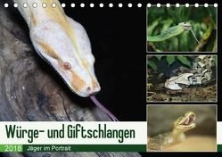 Würge- und Giftschlangen (Tischkalender 2018 DIN A5 quer) von N.,  N.
