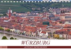 WÜRZBURG – ALTSTADT IMPRESSIONEN (Tischkalender 2019 DIN A5 quer) von boeTtchEr,  U