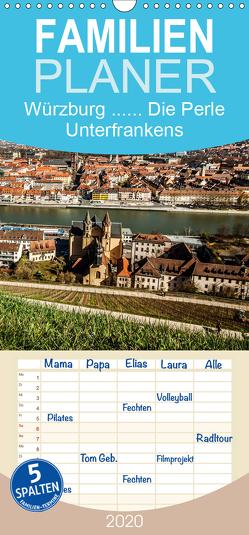 Würzburg – Die Perle Unterfrankens – Familienplaner hoch (Wandkalender 2020 , 21 cm x 45 cm, hoch) von Pinkoss Photostorys,  Oliver