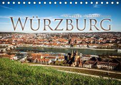 Würzburg – Die Perle Unterfrankens (Tischkalender 2019 DIN A5 quer) von Pinkoss Photostorys,  Oliver