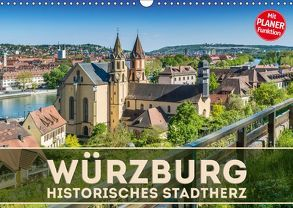 WÜRZBURG Historisches Stadtherz (Wandkalender 2019 DIN A3 quer) von Viola,  Melanie