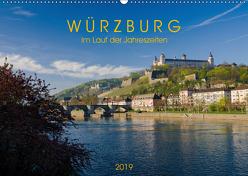 Würzburg – Im Lauf der Jahreszeiten (Wandkalender 2019 DIN A2 quer) von Müther,  Volker