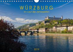 Würzburg – Im Lauf der Jahreszeiten (Wandkalender 2019 DIN A4 quer) von Müther,  Volker