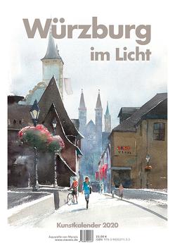 Würzburg im Licht von Tehrani,  Maneis