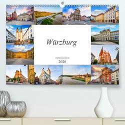 Würzburg Impressionen (Premium, hochwertiger DIN A2 Wandkalender 2020, Kunstdruck in Hochglanz) von Meutzner,  Dirk