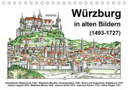 Würzburg in alten Bildern (Tischkalender 2020 DIN A5 quer) von Liepke,  Claus