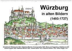 Würzburg in alten Bildern (Wandkalender 2020 DIN A2 quer) von Liepke,  Claus