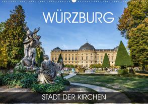 Würzburg – Stadt der Kirchen (Wandkalender 2020 DIN A2 quer) von Thoermer,  Val