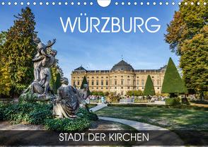 Würzburg – Stadt der Kirchen (Wandkalender 2020 DIN A4 quer) von Thoermer,  Val