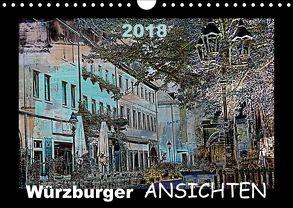 Würzburger Ansichten 2018 (Wandkalender 2018 DIN A4 quer) von URSfoto