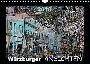 Würzburger Ansichten 2019 (Wandkalender 2019 DIN A4 quer) von URSfoto