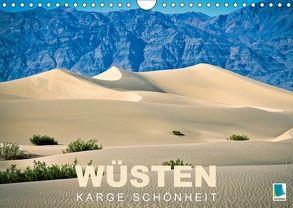 Wüsten – karge Schönheit (Wandkalender 2018 DIN A4 quer) von CALVENDO,  k.A.
