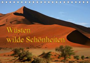 Wüsten, wilde Schönheiten (Tischkalender 2020 DIN A5 quer) von Müller,  Erika
