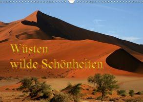 Wüsten, wilde Schönheiten (Wandkalender 2018 DIN A3 quer) von Müller,  Erika