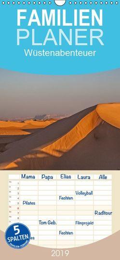Wüstenabenteuer – Familienplaner hoch (Wandkalender 2019 , 21 cm x 45 cm, hoch) von Leonhardy,  Thomas