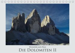 Wunder aus Fels – Die Dolomiten II (Tischkalender 2021 DIN A5 quer) von Janka,  Rick